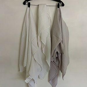 aden + anais Other - ADEN aden + anais Set of 3 cotton swaddle blankets